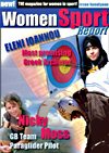Nicky Moss featured in the Women Sport Report Magazine